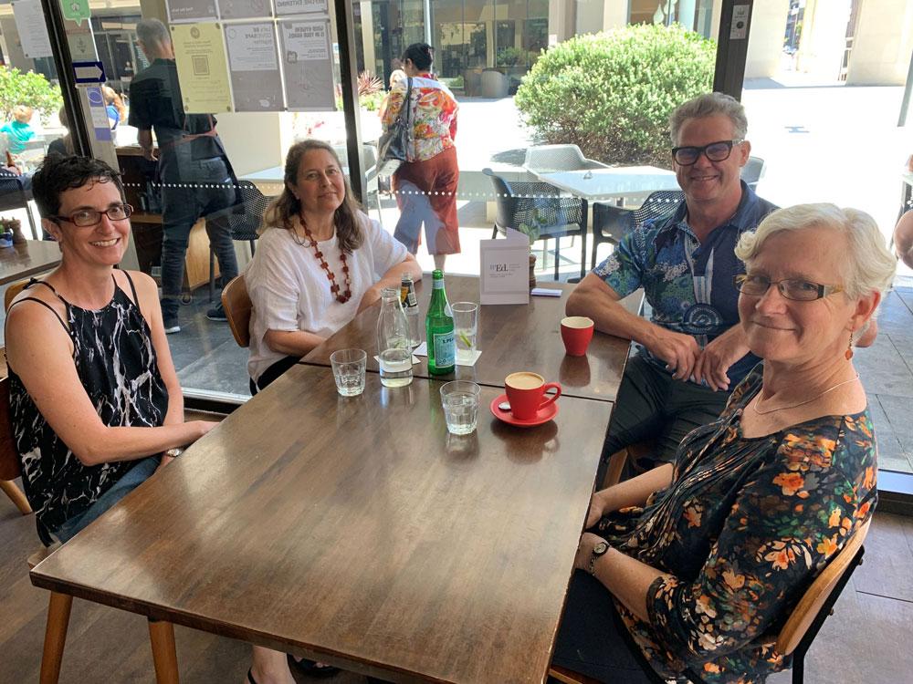 Newcastle editors get together