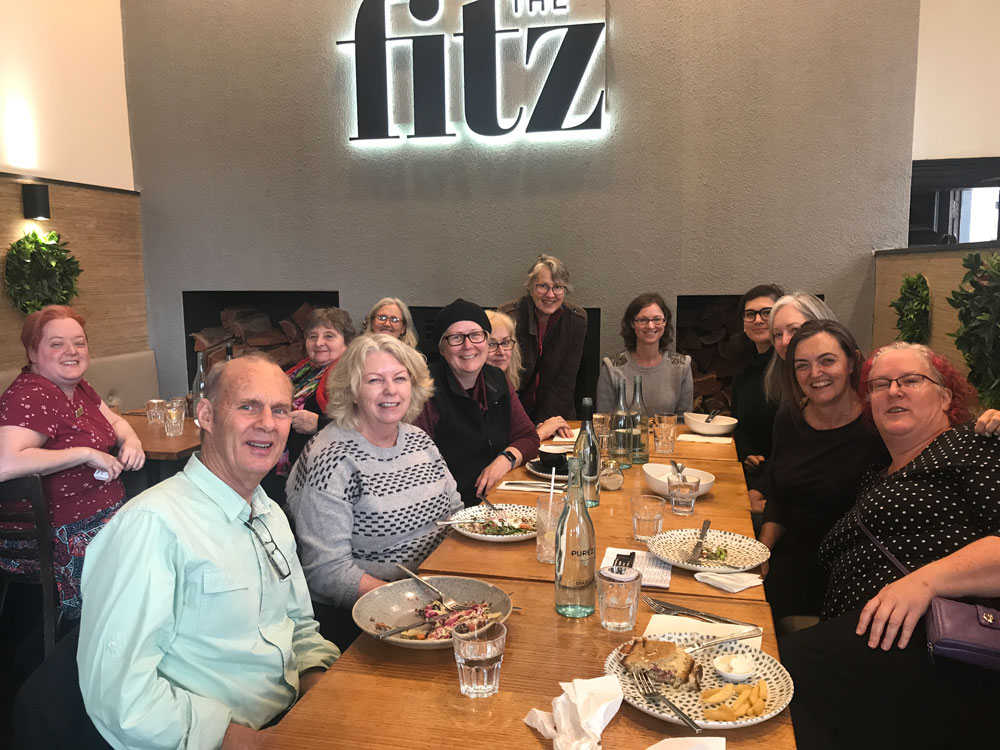 Report: April freelance lunch
